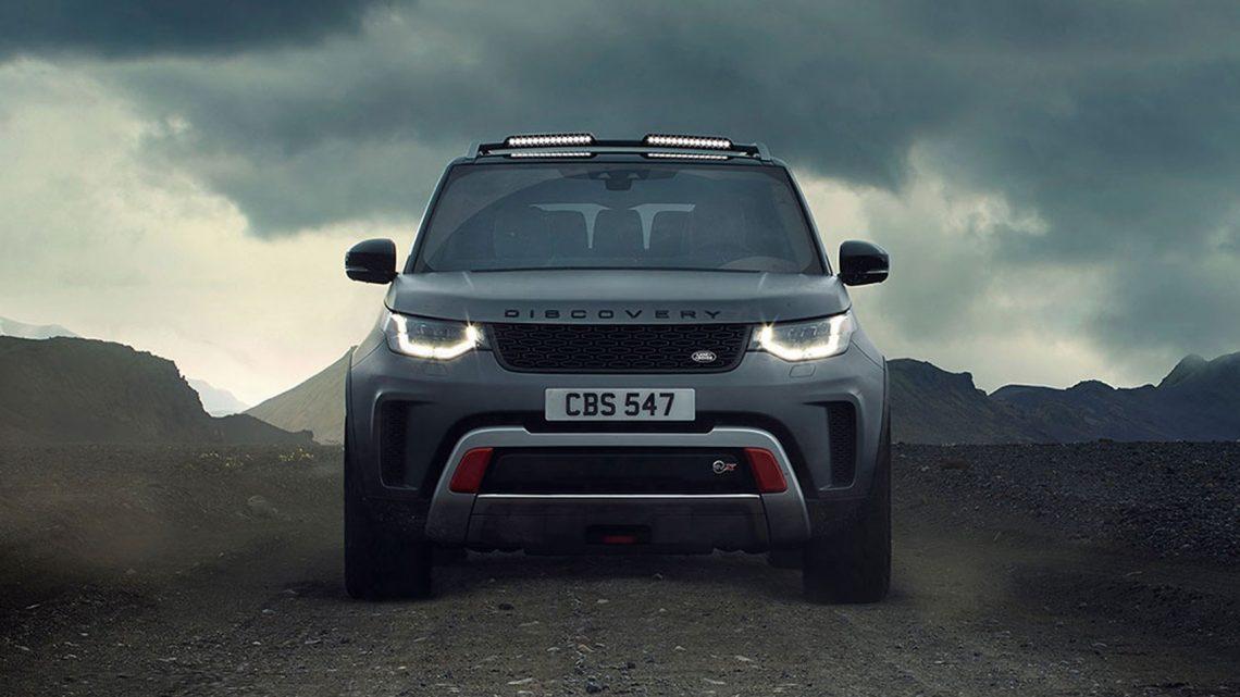 Parece que el Range Rover Discovery SVX está muerta