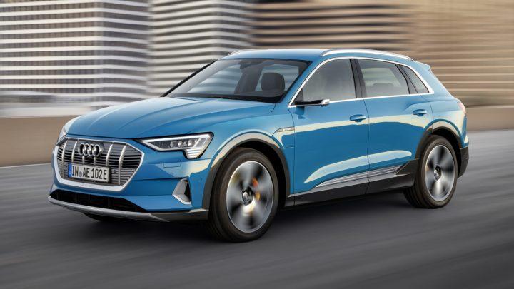 El Audi e-tron 2019 tiene un alcance eléctrico clasificado por la EPA de 204 millas
