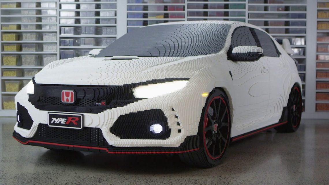 El Lego Honda Civic Type R se ve mejor que el real