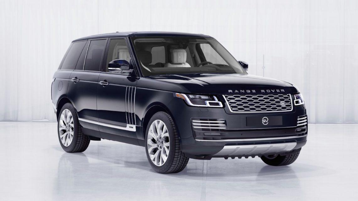 La Range Rover Astronaut Edition es solo para los astronautas comerciales de Virgin Galactic