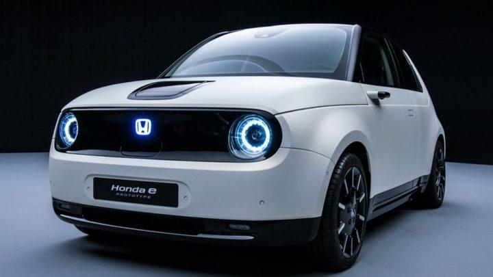 Honda e Prototype nuevo vehículo eléctrico