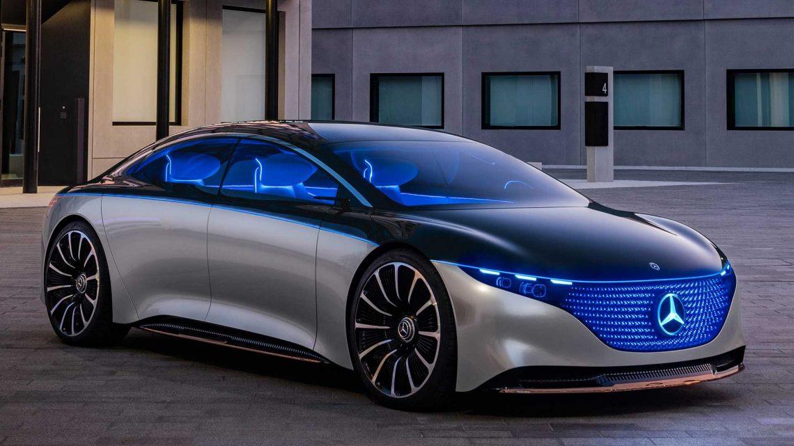 El Mercedes-Benz Vision EQS sugiere un eléctrico S-class