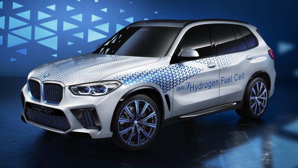 BMW i Hydrogen Next Fuel-Cell Concept presenta una vista previa del 2021 X5 M