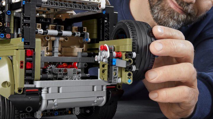 La Land Rover Defender 2020 de Lego Technic Kit tiene más detalles precisos de lo que esperabamos