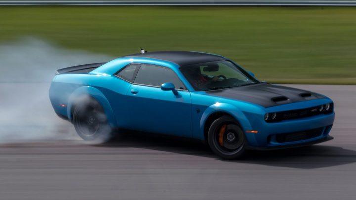El Dodge Challenger ACR esta listo para la pista