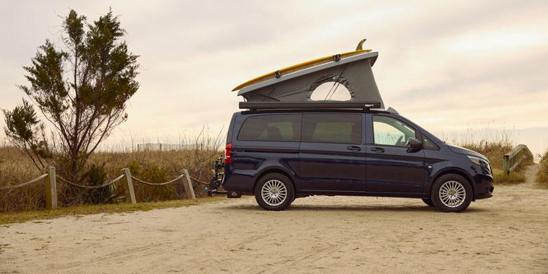 Mercedes-Benz aparece con una camioneta Weekender