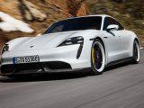 Porsche Taycan eléctrico del comercial del Superbowl 2020