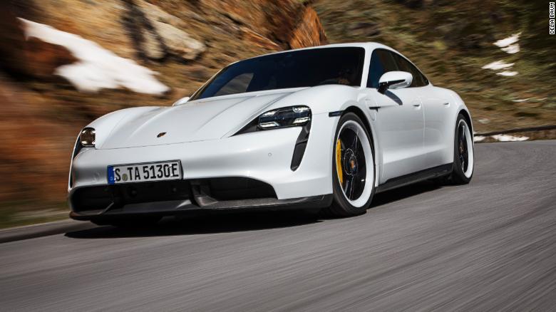 Porsche Taycan es realmente tan silencioso, pero no tan silencioso como el Tesla Model S