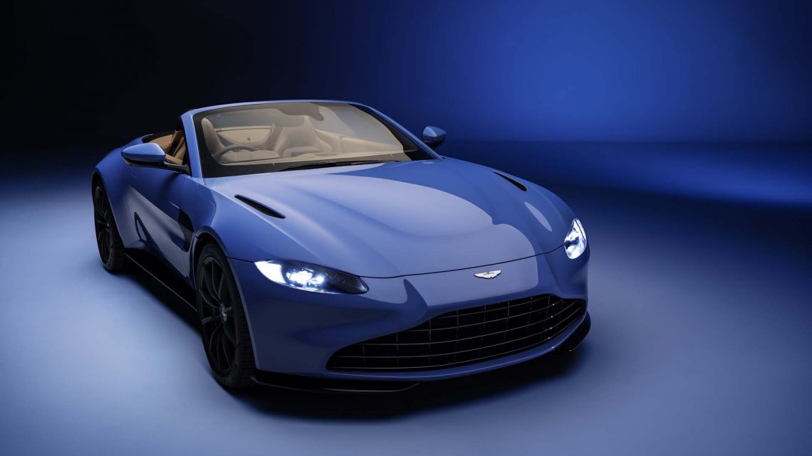Aston Martin Vantage finalmente agrega la variante Roadster
