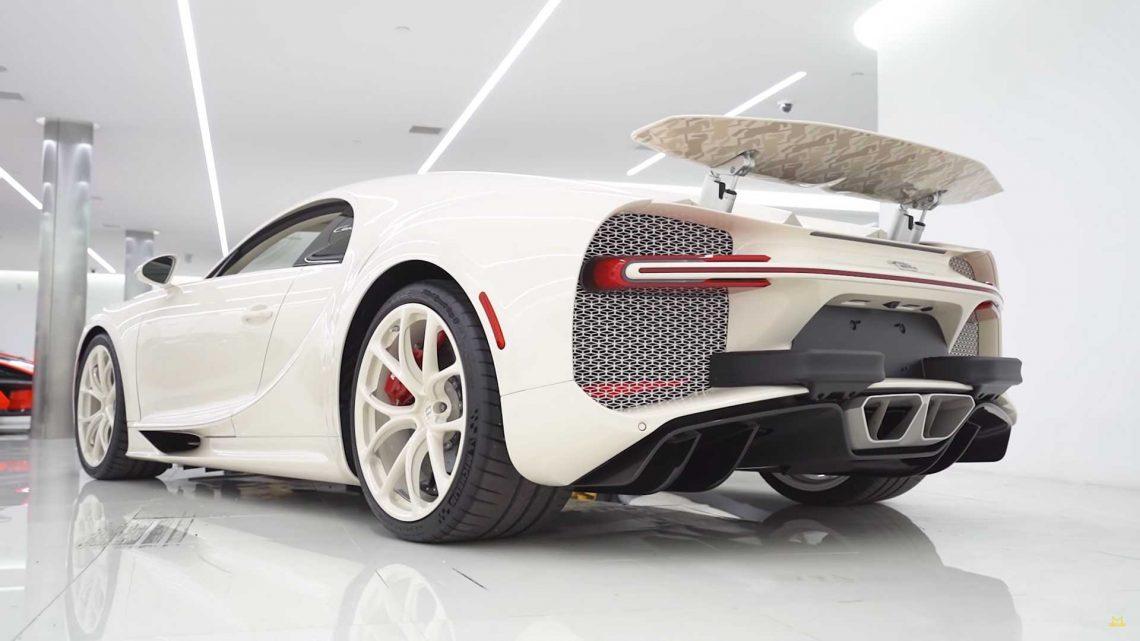 Deleita tus ojos con el Bugatti Chiron Edición Hermès que tardó 3 años en construirse