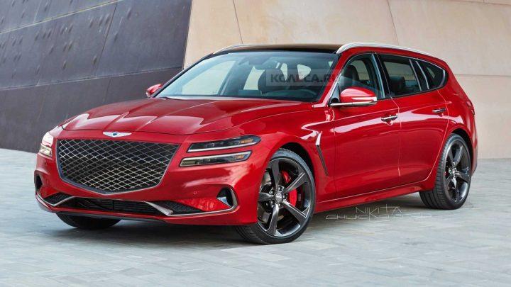 Es probable que Genesis lance G70 Wagon que se parece al sueño de un entusiasta