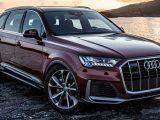 Audi Q7 2020 vino a lado de un lago