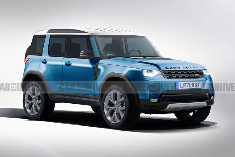 Land Rover Defender 80 será resistente