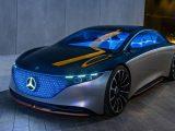 El AMG EQS se basará en el sedán EQS 2021 y pasará de cero a 60 mph en menos de 4.5 segundos