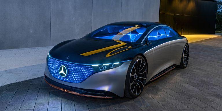 Mercedes trabaja en la versión AMG de 600 HP del EQS eléctrico