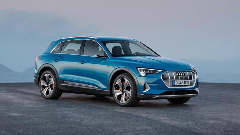 Audi e-tron EV agrega el modelo S de alto rendimiento con 496 HP